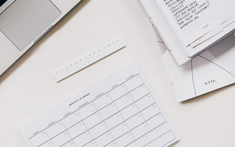 Calendar and task list
