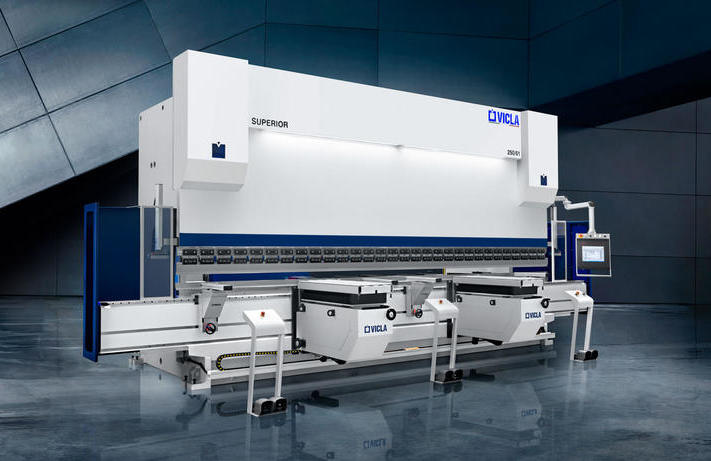 INDUSTRIAL PRESS BRAKES: THE IMPORTANCE OF WORK AREA TO INCREASE EFFICIENCY