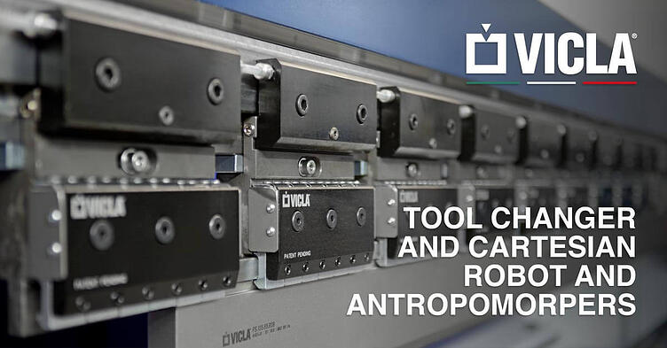 Here we are tool changer and cartesian robot and antropomorpers offered by VICLA®.