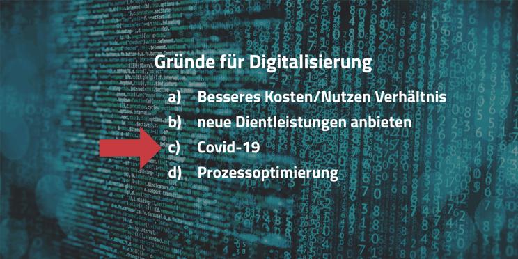 Gründe für Digitalisierung
