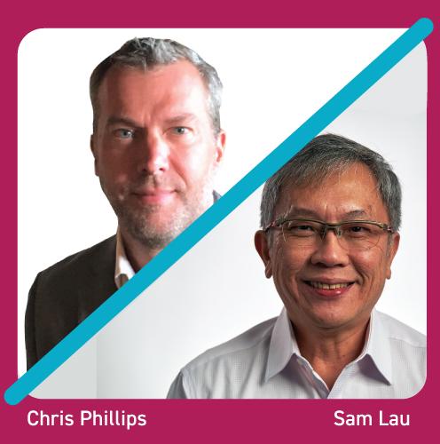 Chris Phillips and Sam Lau