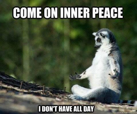 The Race to Inner Peace