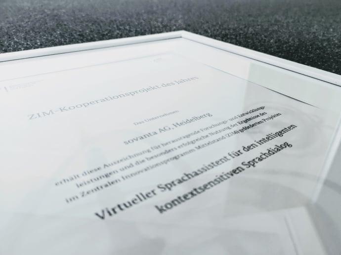 ZIM-Kooperationsprojekt des Jahres