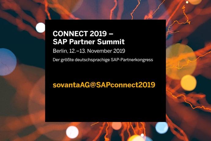 SAP Connect 2019 – sovanta reist nach Berlin