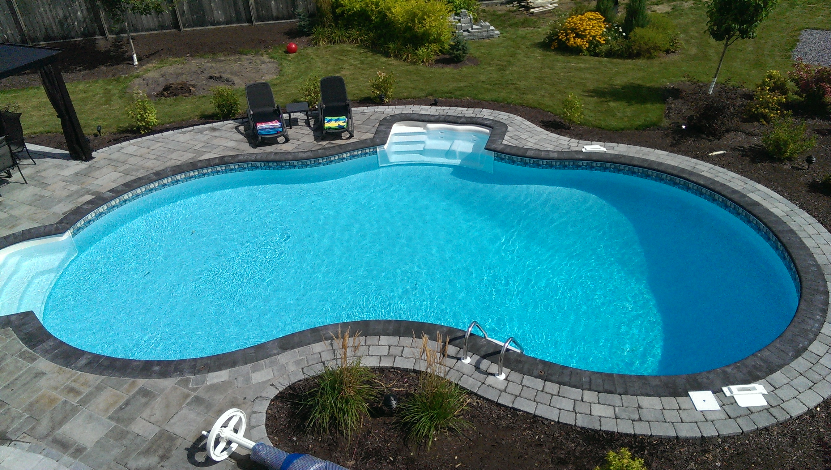 What is best for ottawa vinyl concrete or fiberglass for Best in ground pool