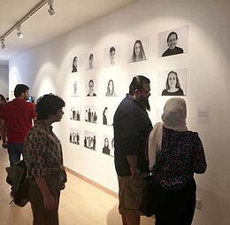 Contemporary art celebrated at int'l cultural festival
