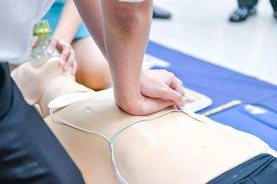 Provide Cardiopulmonary Resuscitation and Manual Handling Training