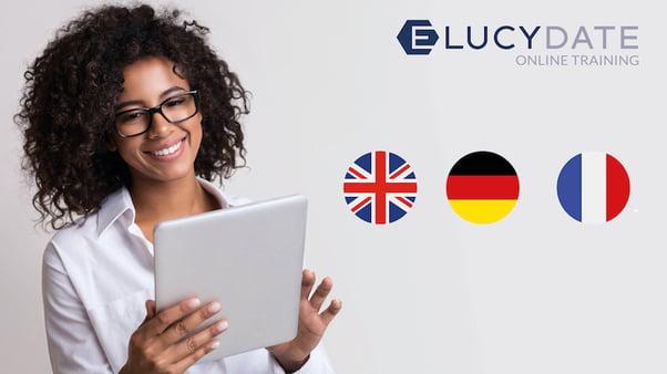 ELUCYDATE E-Learnings in Deutsch, Englisch und Französisch