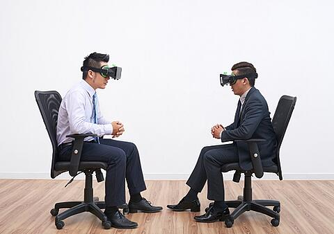Virtuelle Konferenzen: Science Fiction im Meetingraum