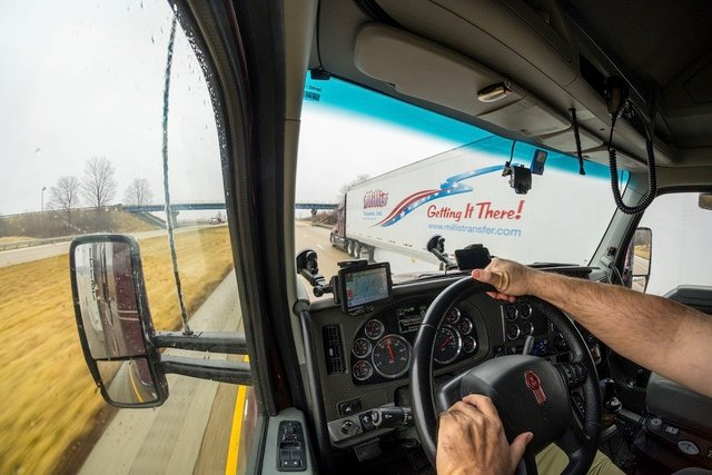 Cameras Improving Trucker Safety