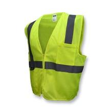 Radians SV2Z Economy Type R Class 2 Mesh Safety Vest with Zipper
