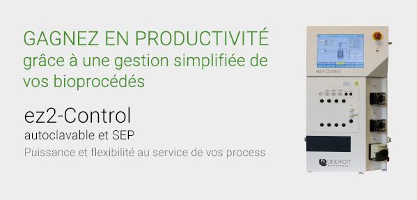 Gagnez en productivité grâce à une gestion simplifiée de vos bioprocédés