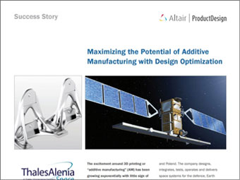 Maximizing the Potential of Additive Manufacturing with Design Optimization