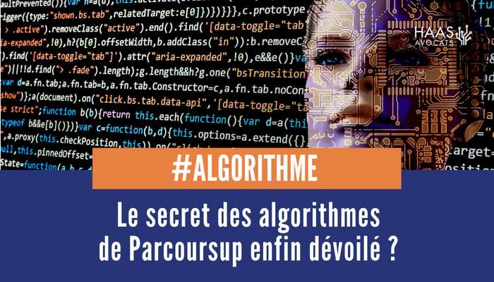 Algorithme parcoursup