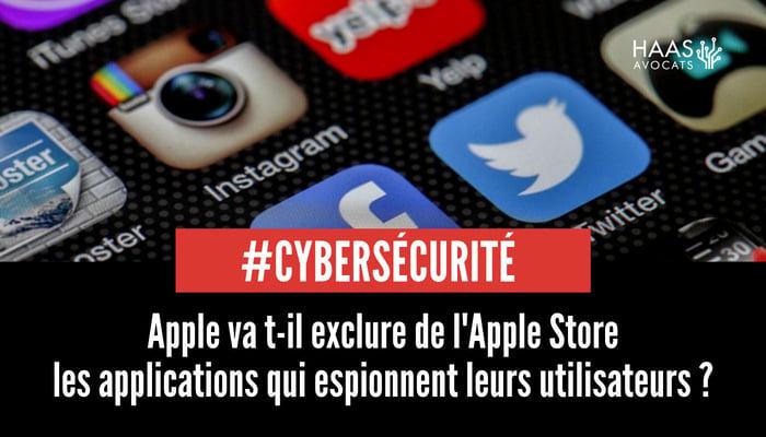 Applications mobiles qui espionnent et apple