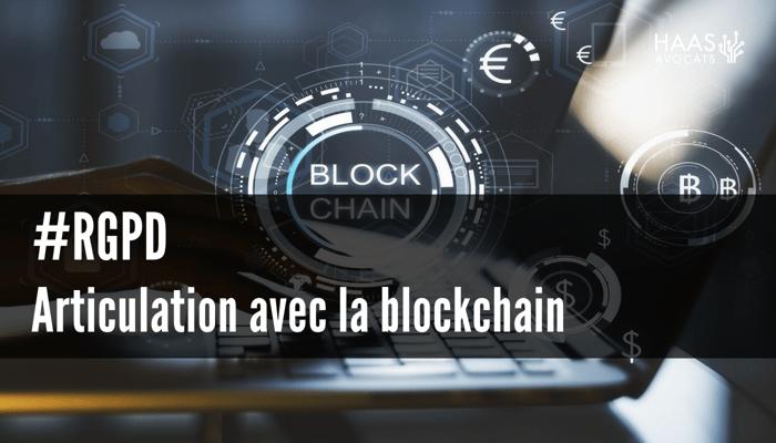 Articulation avec la blockchain