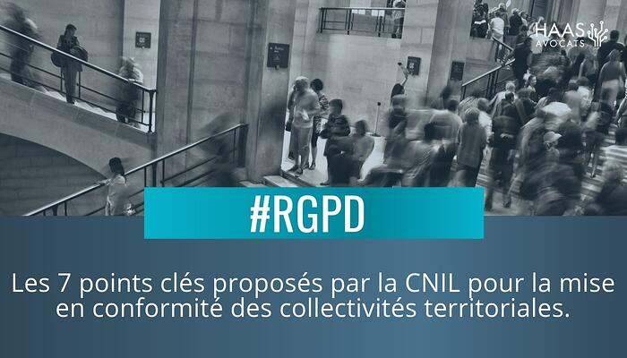 Collectivites territoriales et RGPD