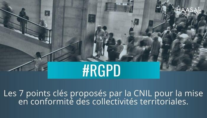 Collectivites territoriales et RGPD