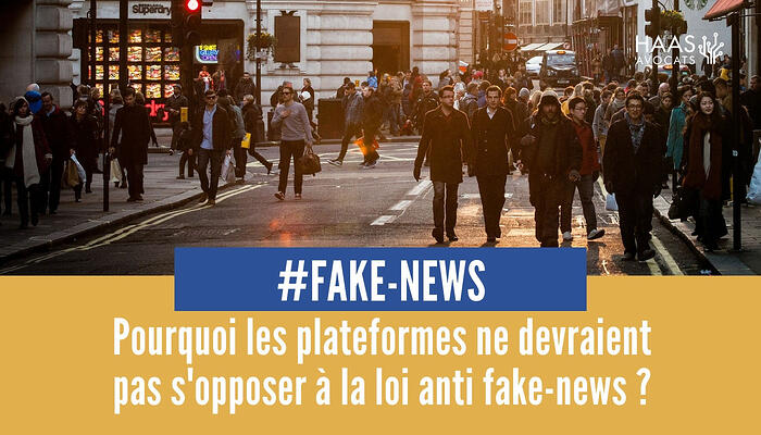 Fake news et lutte des platefromes