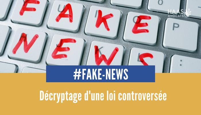 Fake news projet de loi