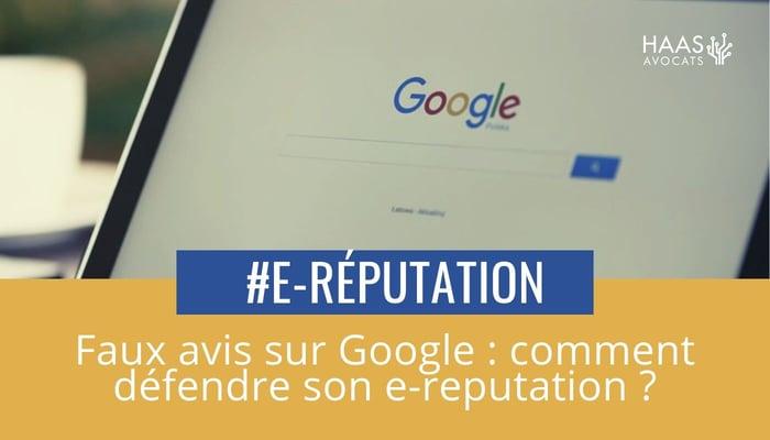 Faux avis _ défendre son e-réputation (2)