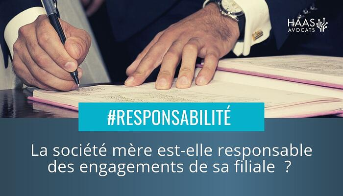 Lettre d intention et responsabilite de la societe mere