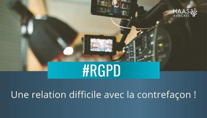 RGPD et contrefacon (1)