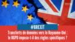 Brexit : quel encadrement des transferts de données personnelles vers le Royaume-Uni ?