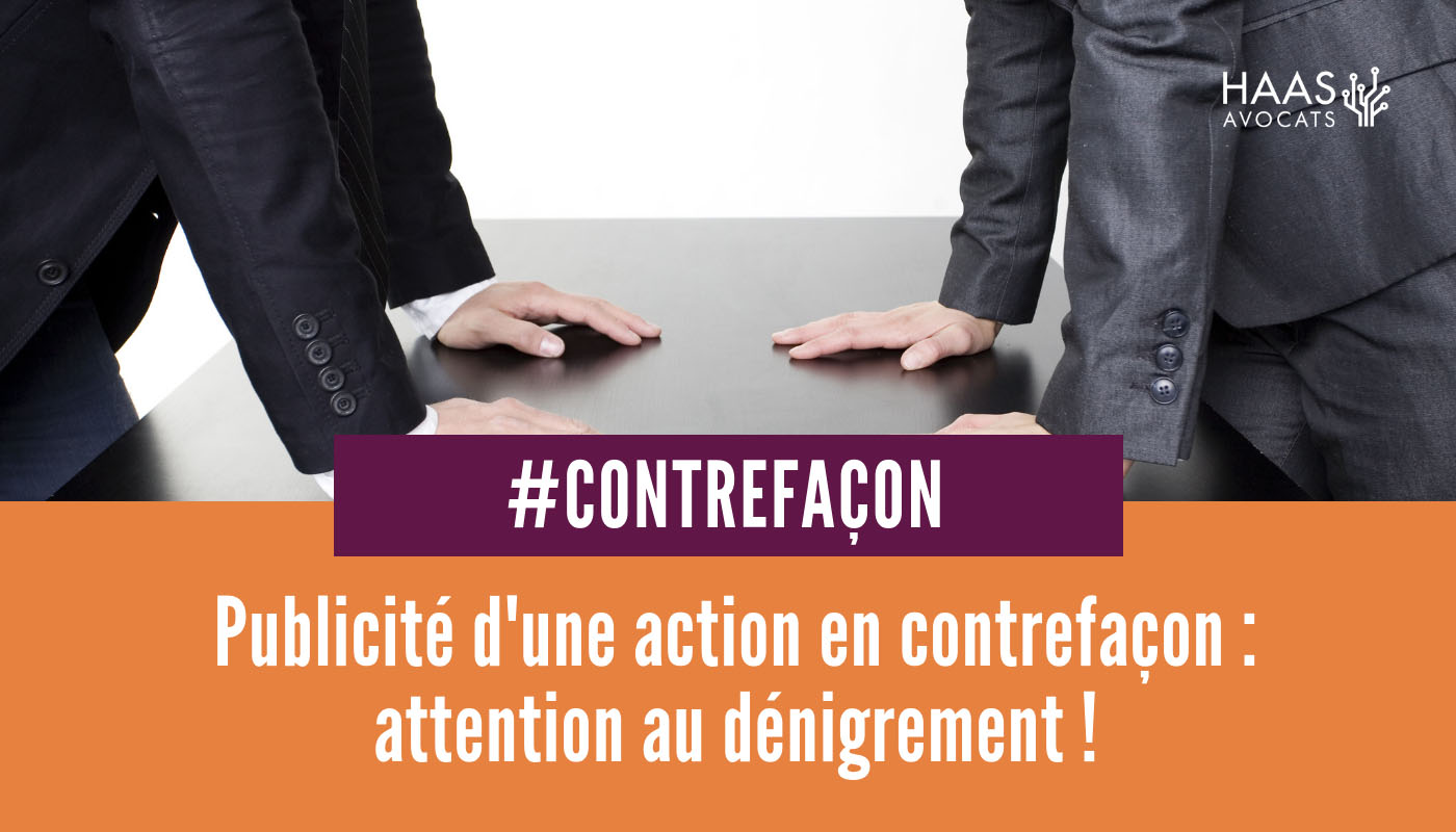 contrefacon et denigrement