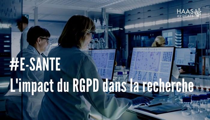 e-santé RGPD