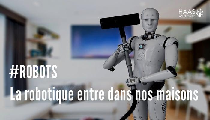 robot compagnon - Haas - Avocats