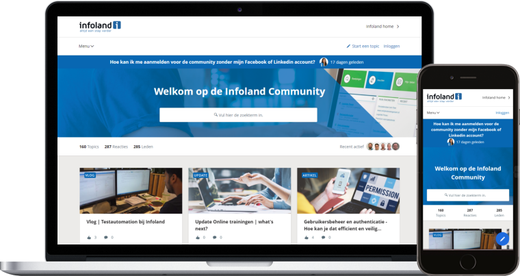 How Software Vendor Infoland Prepares Customer Support for Hyper Growth by Launching a New Community Platform