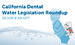 California Dental Water Legislation Roundup - SB1491 & AB1277
