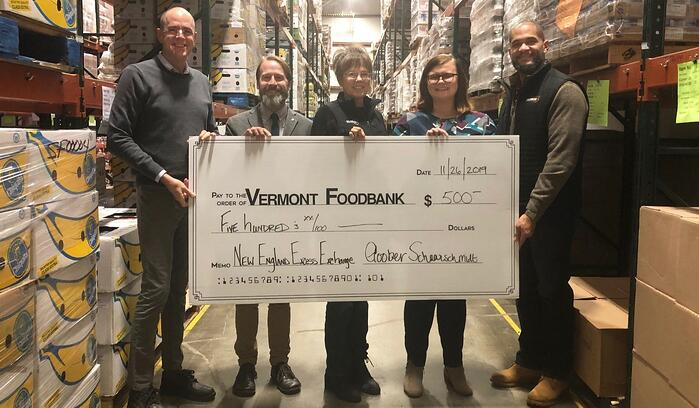 New England Excess Exchange Contributes to Food Banks Through 2019 Campaign