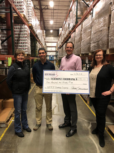 New England Excess Exchange Donates to Local Food Banks Through Annual Campaign