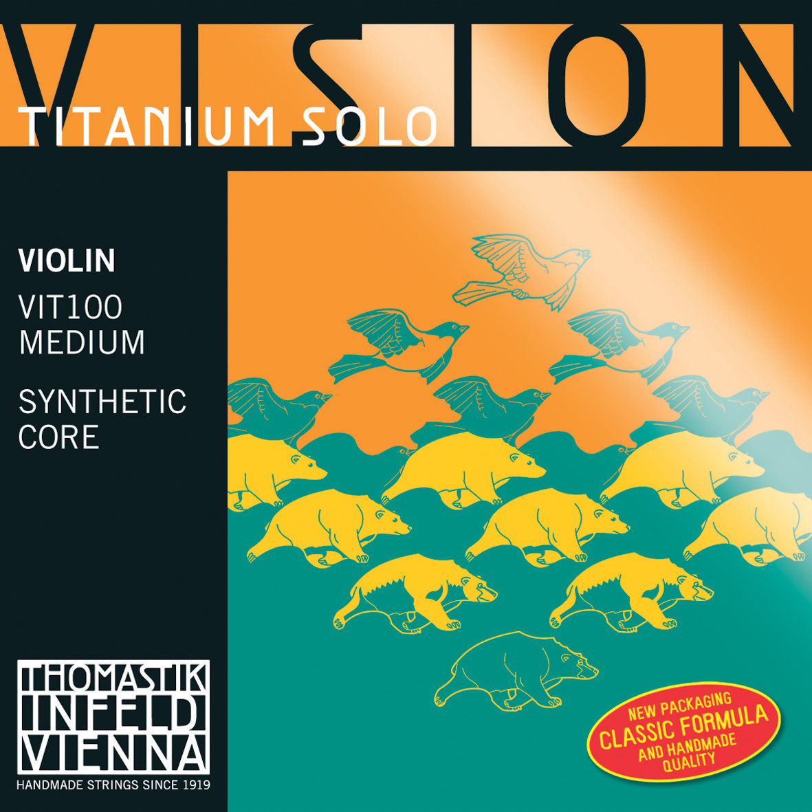 Vision Titanium Solo Thomastik Strings