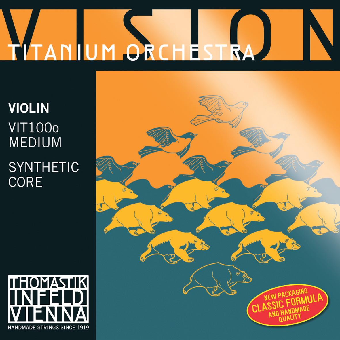 Vision Titanium Orchestra Thomastik Infeld Strings
