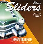Blues Slider Electric Guitar Thomastik Bass Strings