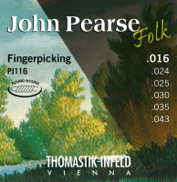 John Pearse Folk Acoustic Guitar Thomastik Infeld Strings