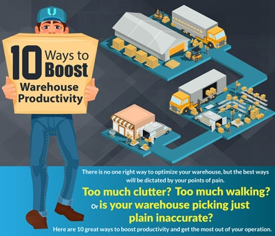 10 Ways to Boost Warehouse Productivity