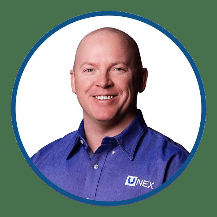 Ryan McKinney is UNEX Central East Regional Sales Manager