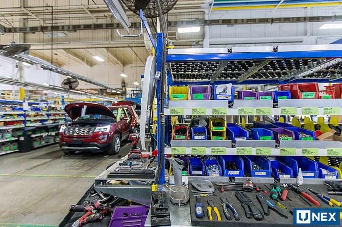 Modular Workstations Make Line-Side Assembly More Efficient