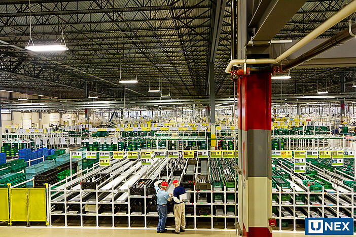 UNEX Flow Cell in Toyotetsu Canada