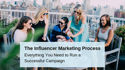 Infographic: The Influencer Marketing Process