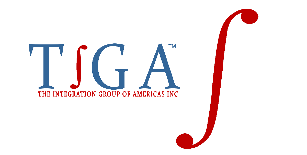 integral symbol with TIGA logo