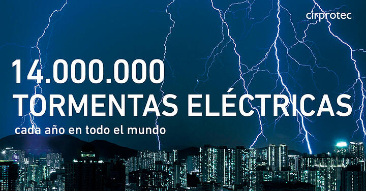 Infografía: Tormentas eléctricas verano