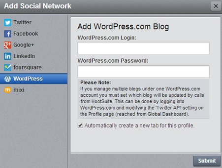 WordPress On HootSuite Blog