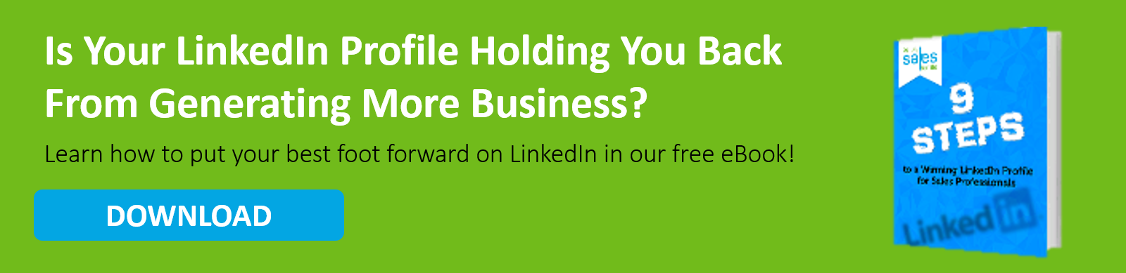 Is Your LinkedIn Profile Holding You Back