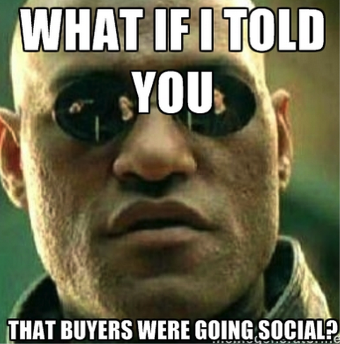 Attention Sales Reps: Buyers are Going Social!