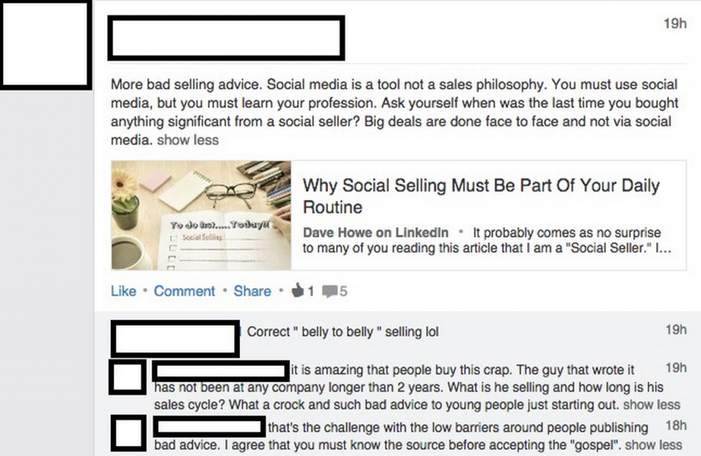 3 Big Social Selling Misconceptions